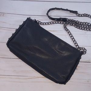 Lp blue studded purse